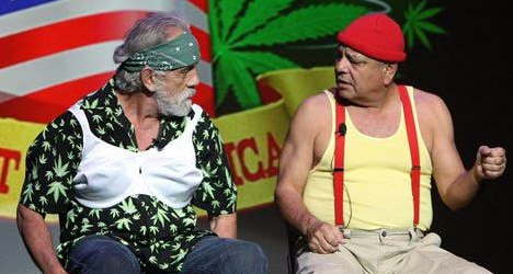 Cheech Marin and Tommy Chong – Light Up America Tour