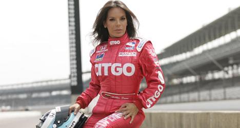 Milka Duno – Speed Racer