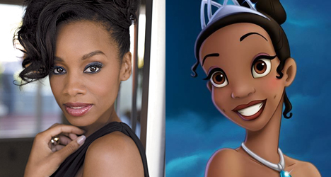Anika Noni Rose – The Princess and the Frog