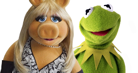 Kermit the Frog & Miss Piggy – The Muppets
