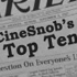 CineSnob's Top 10 Films of 2011