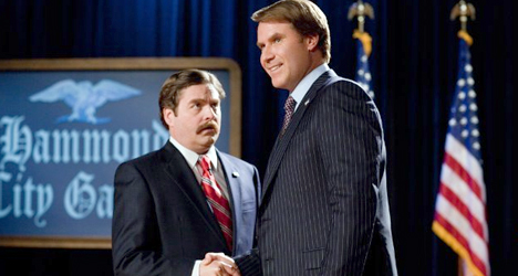 Will Ferrell & Zach Galifianakis – The Campaign