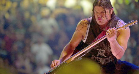Robert Trujillo – Metallica: Through the Never