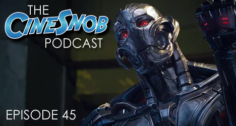 Ep. 45 – Avengers: Age of Ultron, Clouds of Sils Maria, Tales of the Grim Sleeper, Josh Trank dropped from Star Wars, Robert Downey Jr. disses indie filmmakers, and the guys commiserate over the San Antonio Spurs being eliminated from the NBA playoffs