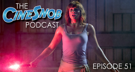 Ep. 51 – Jurassic World, Sony and Marvel are at odds over who should be Spider-Man, Joe Carnahan may direct Bad Boys 3, and our next Alamo Drafthouse screening is set