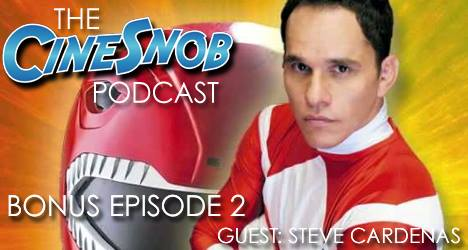Bonus Ep. 2 – Interview with Steve Cardenas of Mighty Morphin Power Rangers