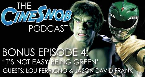 Lou Ferrigno & Jason David Frank – Comic Con SA (Podcast Int.)