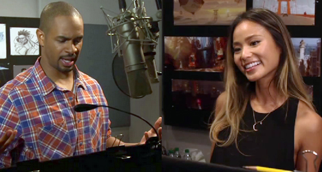 Jamie Chung & Damon Wayans Jr. – Big Hero 6