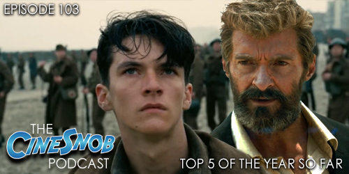 Ep. 103 – Top 5 movies of the year so far, home video reviews of The Circle, Unforgettable, and Kong: Skull Island, and a preview of Fathom Events this week