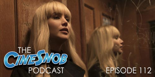 Ep. 112 – Red Sparrow, I, Tonya on Blu-ray, Oscars post-mortem, and a recap of La La Land live from the San Antonio Symphony