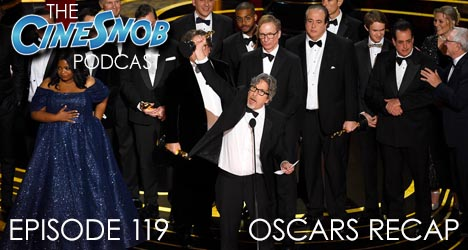 Ep. 119 – Recapping the somewhat disastrous 91st Oscars