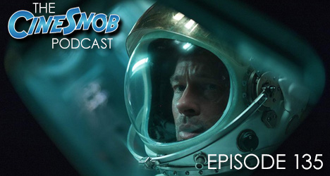 Ep. 135 – Ad Astra, Between Two Ferns: The Movie, Fantastic Fest recap, and a weekend at Big Texas Comicon