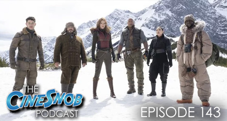 Ep. 143 – Jumanji: The Next Level, Richard Jewell, 6 Underground, and the HFCS award noiminees