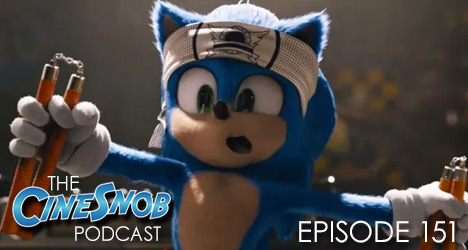 Ep. 151 – Sonic The Hedgehog, Come to Daddy, Olympic Dreams, and Buffaloed