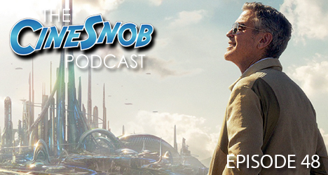 Ep. 48 – Tomorrowland, Poltergeist, Slow West, Simon Pegg's comments rile up the internet, Reese Witherspoon to play live-action Tinker Bell, and we wrap up our visit to the San Antonio Symphony's John Williams concert