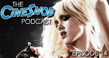 Ep. 14 – Sin City: A Dame to Kill For, Calvary, Hateful Eight teaser, a Minority Report TV show, and our overrated and underrated comic book adaptations