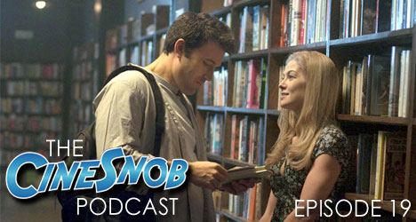 Ep. 19 – Gone Girl, Adam Sandler's moving to Netflix, a Zombieland sequel, Joaquin Phoenix out of the running for Doctor Strange, and our Netflix picks.
