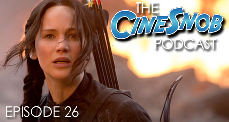 Ep. 26 – The Hunger Games: Mockingjay – Part 1, The Theory of Everything, talking the new Peanuts teaser trailer, and examining the trend of the set-up movie