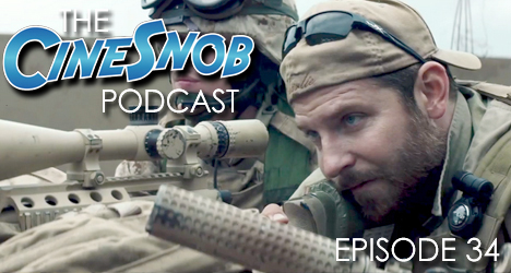 Ep. 34 – American Sniper, Blackhat, and reaction the Oscar nominations