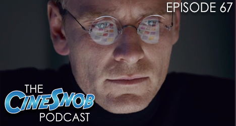 Ep. 67 – Steve Jobs, reaction to the new Star Wars trailer, Chris Rock is hosting the Oscars, and Edgar Wright is teaming up with Johnny Depp, Neil Gaiman, and Bret McKenzie
