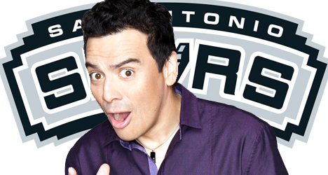 Carlos Mencia mindful of Spurs
