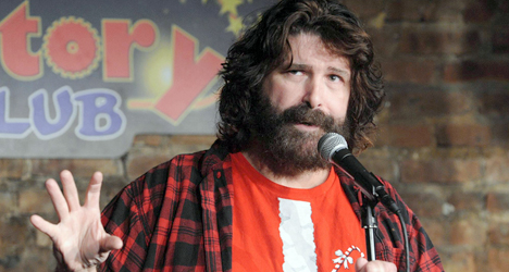 mick foley entrance