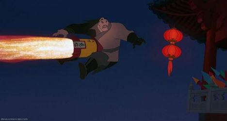 Shaun Yu goes boom in Mulan.