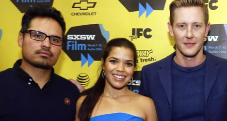 Michael Peña, America Ferrera & Gabriel Mann – César Chávez