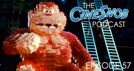 Ep. 57 – Pixels, Paper Towns, Cartel Land, Dwayne Johnson to star in a Baywatch movie, the changes Pixels made for China, and where is Kiko?