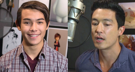 Ryan Potter & Daniel Henney – Big Hero 6
