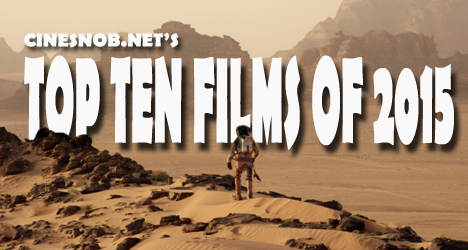 Top Ten Films of 2015