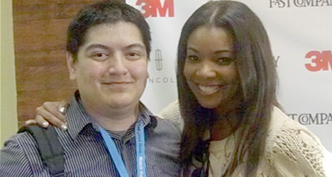CineSnob.net challenges actress Gabrielle Union to friendly 2014 NBA Finals Bet
